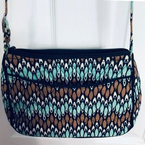 Vera Bradley Vintage Shoulder/Tote Crossbody Bag